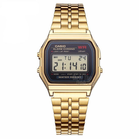 CASIO Gold Metal Band Watch