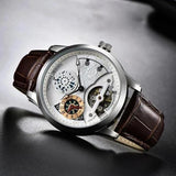 SHILOH Automatic Watch White Brown