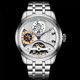 SHILOH Automatic Steel Silver Watch
