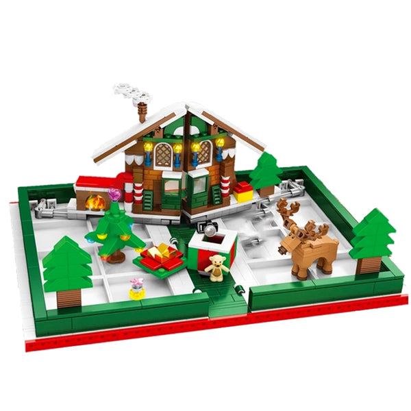 Christmas Building Bricks DIY Sets