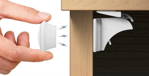 Magnetic Baby Safety Cabinet Lock Set