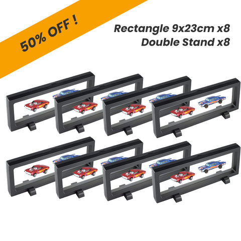 Time Clip™ Display Frame - Rectangle 9x23cm x8pcs - Materiol
