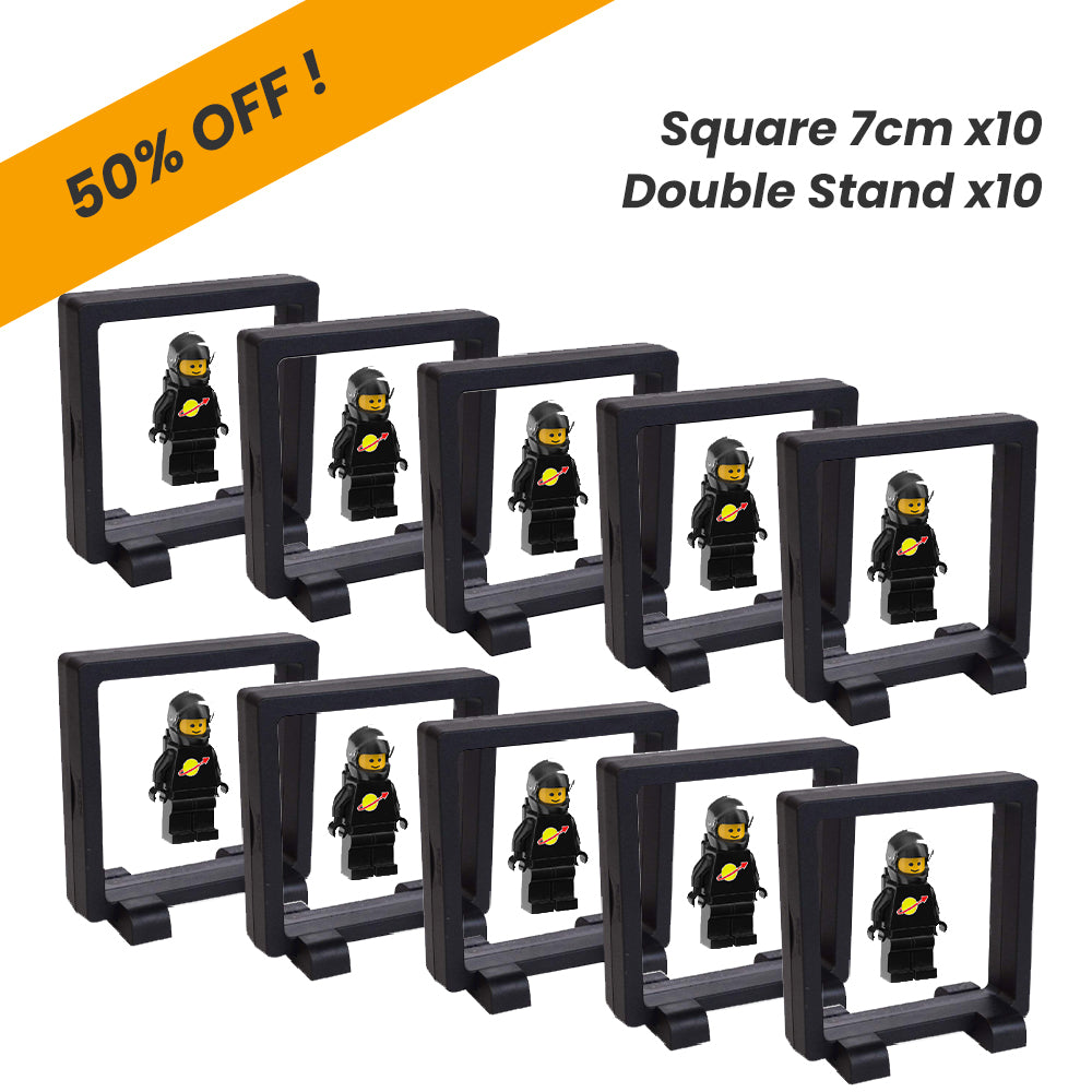 Time Clip™ Display Frame - Square 7cm x 10pcs - Materiol