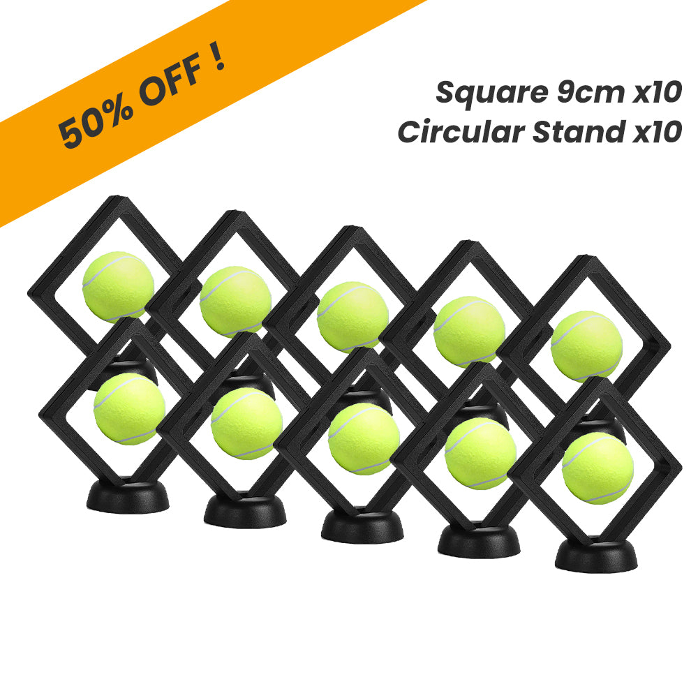 Time Clip™ Display Frame - Square 9cm x 10pcs - Materiol