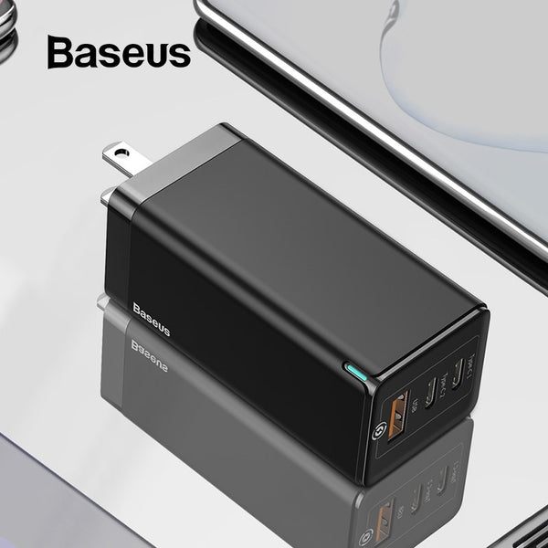 Baseus 65W Super Fast GaN Charger For Phone and Laptop