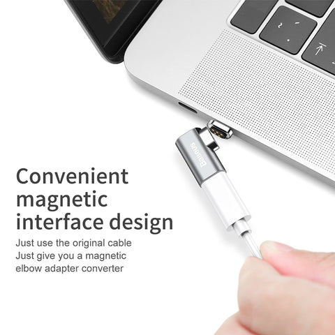Baseus 86W Magnetic USB C Adapter for MacBook/Pro