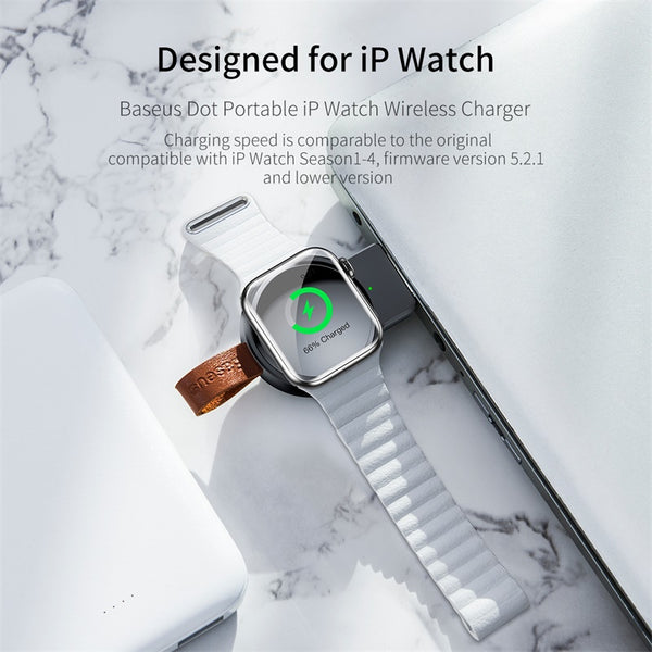 Baseus Qi Wireless Charger For Apple Watch