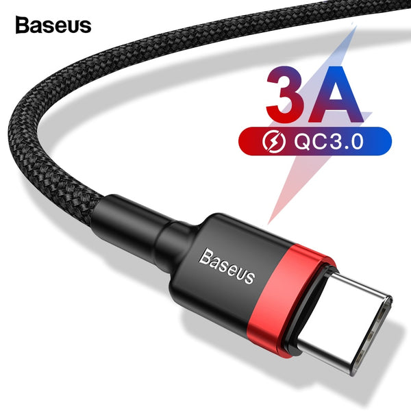 Baseus 60W Fast Charging Type C Cable - Materiol