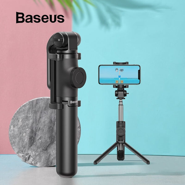 Baseus Selfie Stick for Phone with Shutter Remote and Mini Tripod