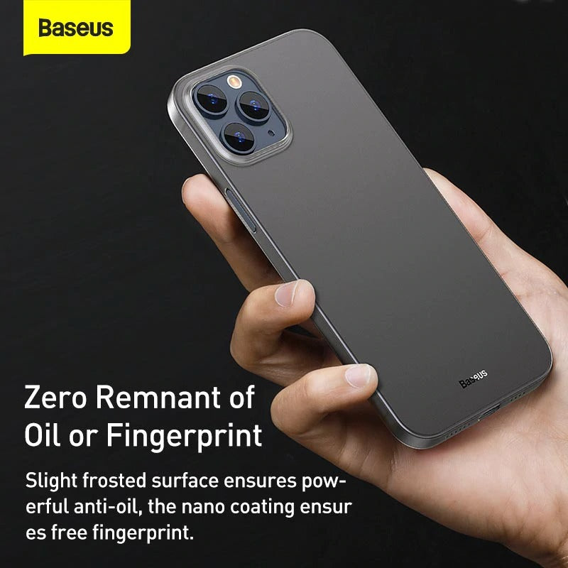 Baseus iPhone 12 Matte Ultra Slim Case - Materiol