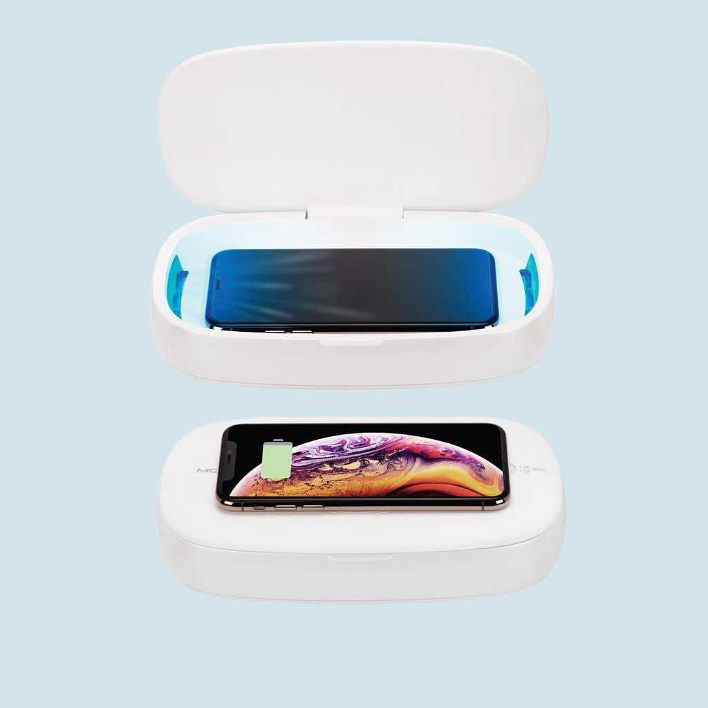 Q Power UV & Wireless Charging Box - Materiol