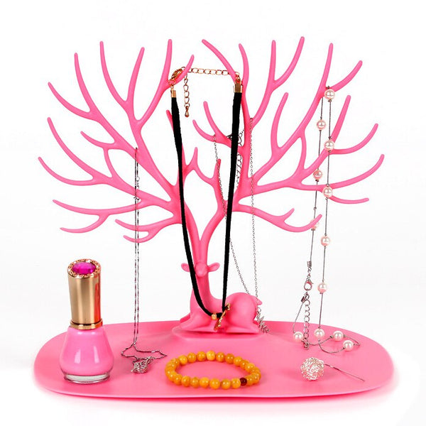 Earrings Necklace Accessories Storage Rack