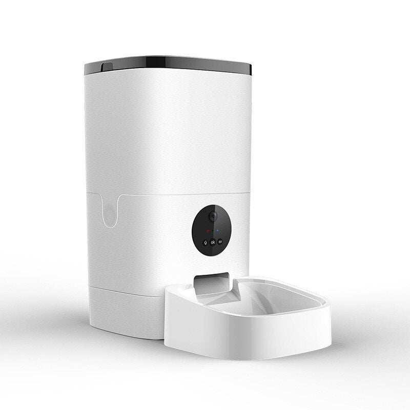 Intelligent Camera Pet Feeder with App Control - Materiol