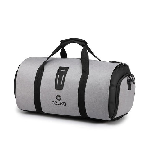 OZUKO Travel Bag with Suit Storage and Shoe Pouch