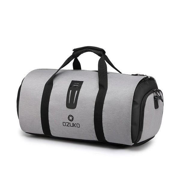 OZUKO Travel Bag with Suit Storage and Shoe Pouch - Materiol