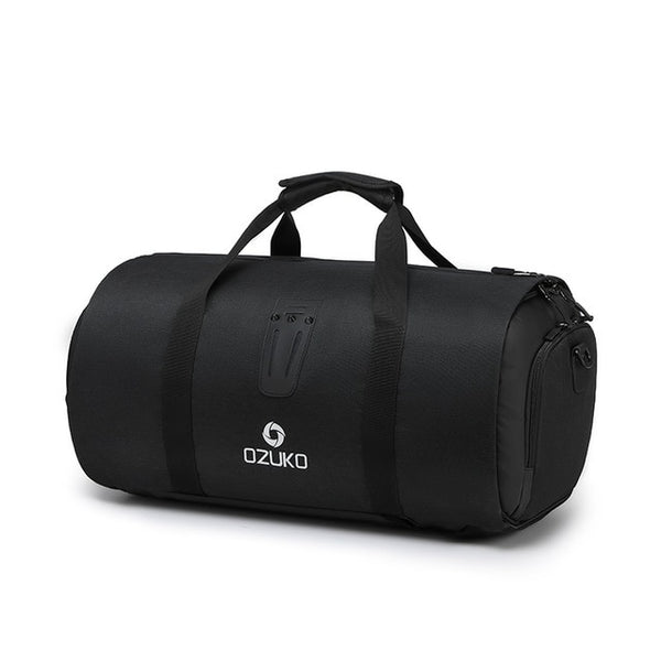 OZUKO Multifunctional Travel Bag with Suit Storage and Shoe Pouch
