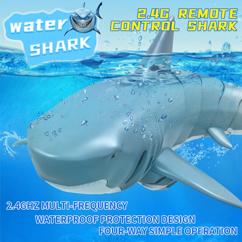 Remote Control Shark Water Toy For Kids