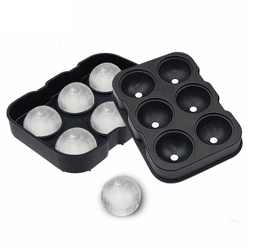 Ice Cube Maker 6 Square/ Sphere Ice Ball Mold - Materiol