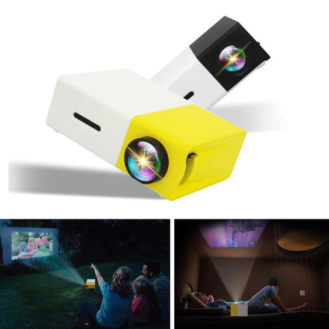 Mini LCD Full HD Video Projector Home Theater Beamer - Materiol