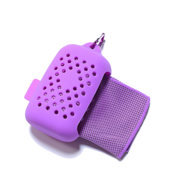 Fast Drying Sport Towel in Key Chain Case