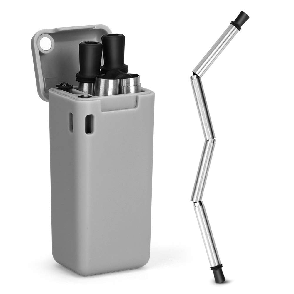 Stainless Steel Foldable Straw - Materiol