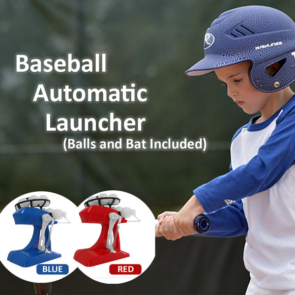 Baseball Launcher Game (with Bat and Balls) - Materiol