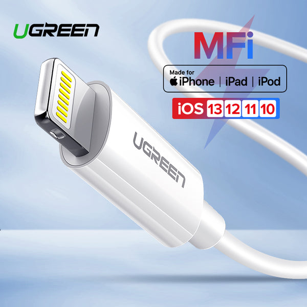 Lightning USB Cable for iPhone (MFi /Fast Charging) - Materiol