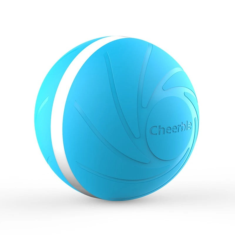 Wicked Ball Interactive Smart Pet Ball Toy - Blue Color - Materiol
