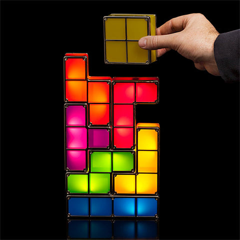 Tetris LED Stackable Night Light - Materiol