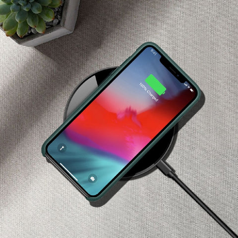 Wireless Charger Pad for Smartphones Qi Support