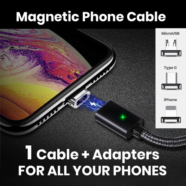 Magnetic Fast Charging Phone Cable - Materiol