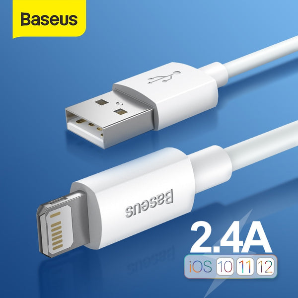 Baseus iPhone 12/11 Pro PD 5A 20W Fast Charge Cable (2pcs / Set) - Materiol