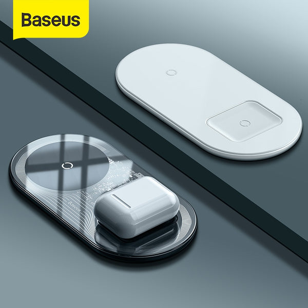 Baseus Fast Charging Wireless Phone Charger - Materiol