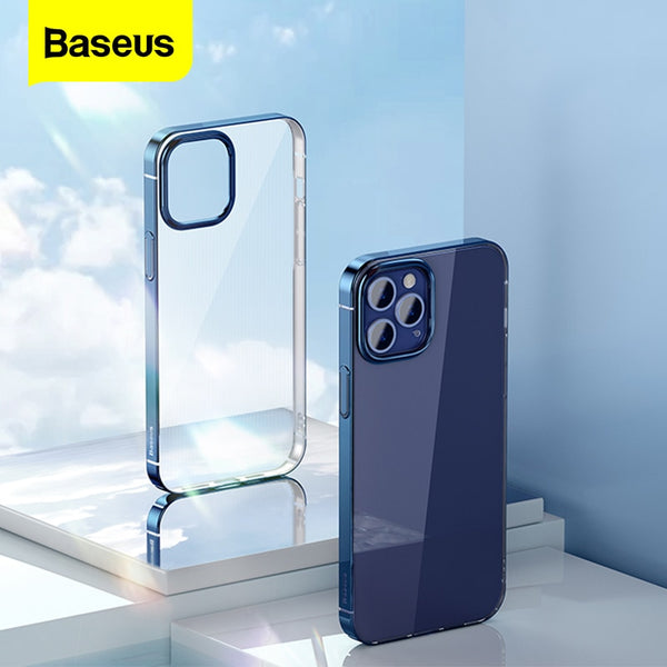Baseus Translucent iPhone 12 Case - Materiol