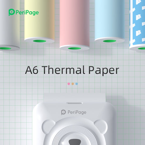 Peripage Printing Paper and Label