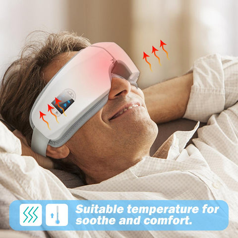 4D Airbag Thermal Eye Massager