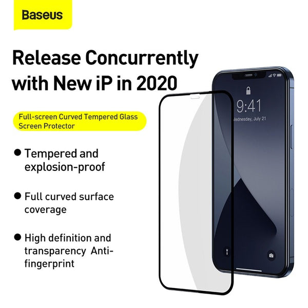 Baseus 0.3mm Anti-Blue Light Full Screen Protector (2 pcs)