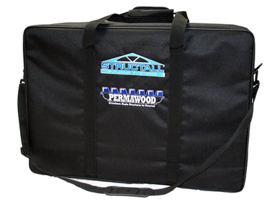 Premium Permawood Sample Case w/ Embroidered Logos
