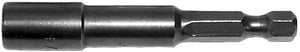 "1/4"" x 2-9/16"" Magnetic Hex Nut Driver-Two Pack"