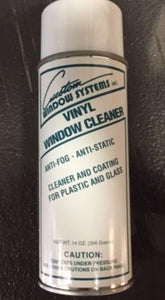 Vinyl Window Cleaner, 14 oz. Spray Can