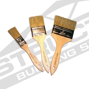 Disposable White Bristle Brush
