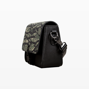 YNBCLUB BUCKLED BAG FT. SCUBA STEVE CAMMO (BLACK)