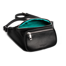 "Load image into Gallery viewer, ""Blue MAGIC""- Belted Fanny Bag"