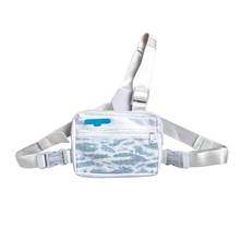 Load image into Gallery viewer, Tri Chest Bag - White