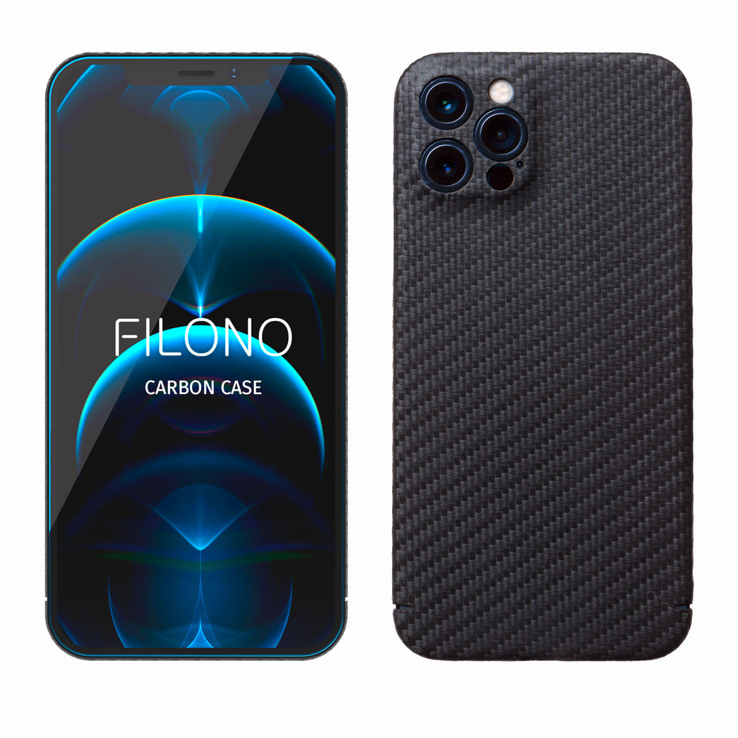 iPhone 12 Pro Carbon Case Filono