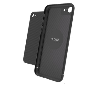 iPhone SE 2020 Carbon Case Filono
