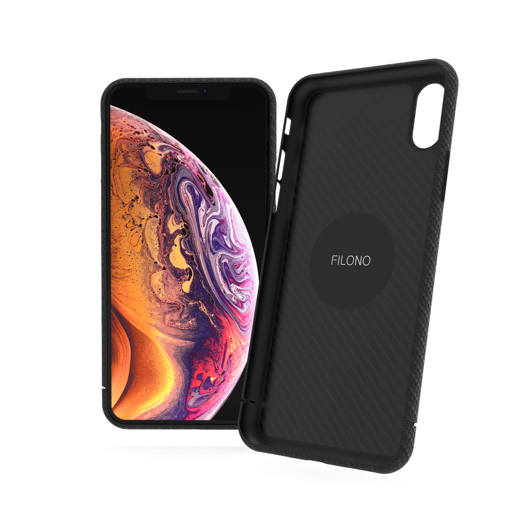 iPhone XS Carbon Case Filono