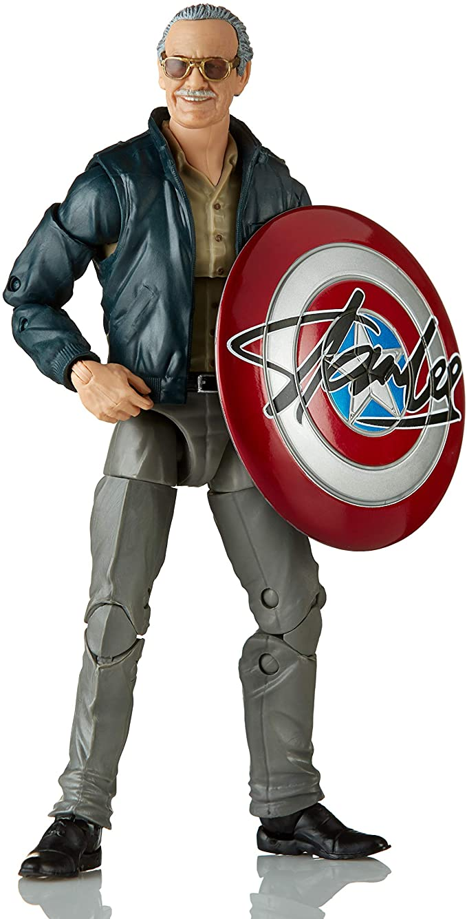 Boneco Marvel Legends Stan Lee 16 cm- E9658 - Hasbro