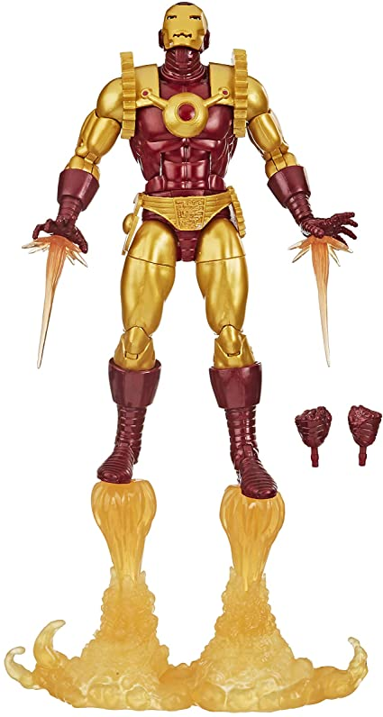 16cm Boneco Marvel Legends Iron Man 2020 Hq E8708.