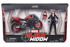 16 cm Viúva Negra - Marvel Legends - Hasbro.